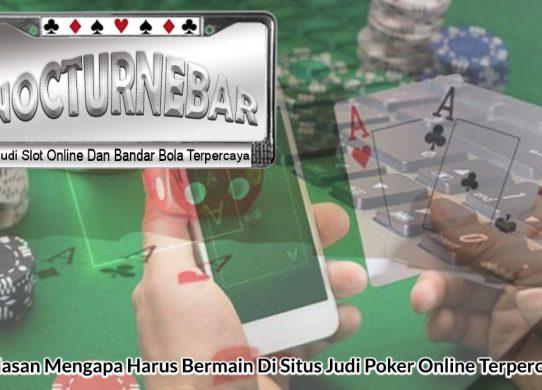 Judi Poker Online Terpercaya - Agen Judi Terpercaya